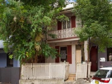 My Home in Sydney at 23 Boundary Street Darlington from which the ANZ evicted me without any notice or warning.